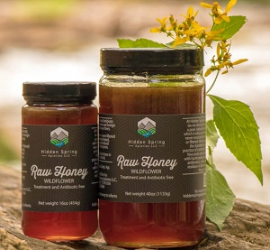 Hidden Springs Honey Jars